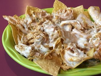La Fogata Mexican Restaurant Kitty Hawk, Nachos with Chicken