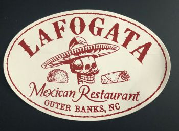 La Fogata Mexican Restaurant Kitty Hawk, La Fogata Stickers