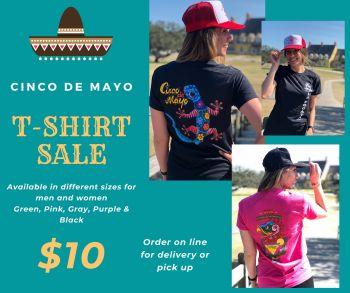 La Fogata Mexican Restaurant Kitty Hawk, Cinco De Mayo T-Shirt Sale